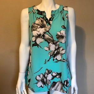 Susan Graver flower shirt